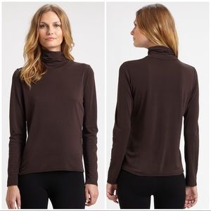 Eileen Fisher Basis Turtleneck Top sz Large